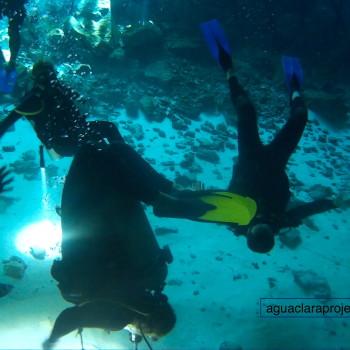 cenote diving tour james lock