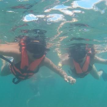 Carmen, Snorkeling Tour, Damian
