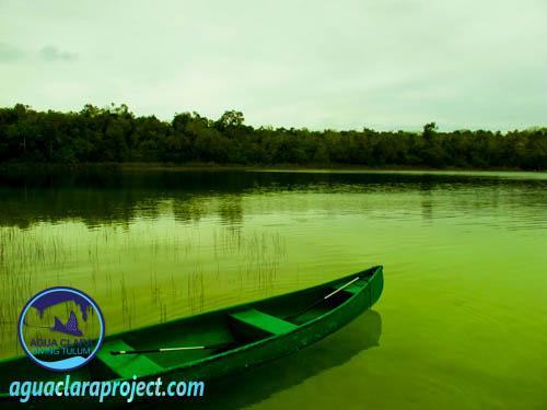 cannoeing Punta laguna
