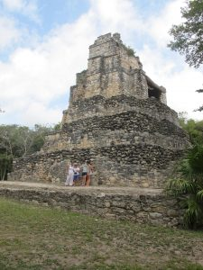 Ruins of muyil sian kaan