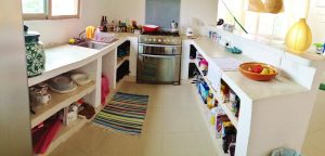 full kitchen agua clara bed and dive